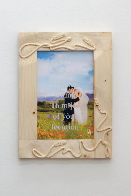 Rune Bering, '391 female members within 16 miles of your location', 2019, Christine König Galerie