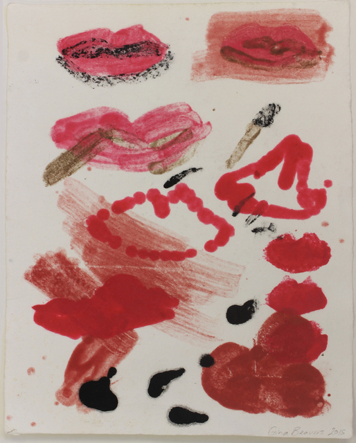 Gina Beavers, 'Lip Test', 2015, Free Arts NYC Benefit Auction