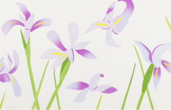 Alex Katz, 'Blue Flags (Irises)', 2014, Caviar20