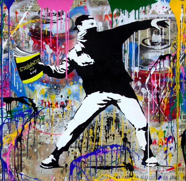 , 'Banksy Thrower,' 2018, Eternity Gallery
