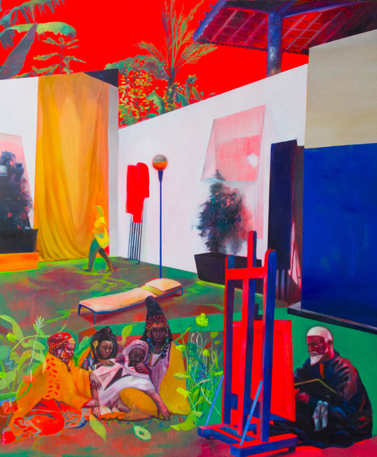, 'A Biennale and the Orient Painter ,' 2018, Yavuz Gallery