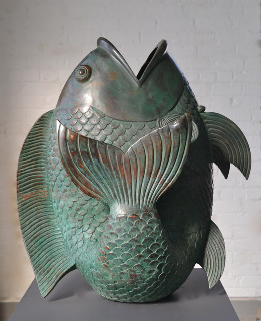 , 'Bronze Fish,' 1930, Hostler Burrows
