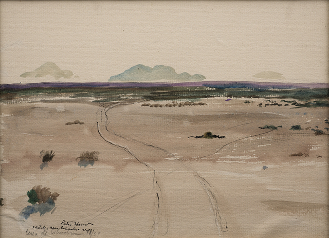 , 'Sketch, Near Columbus, N.M.,' 1954, Aaron Payne Fine Art