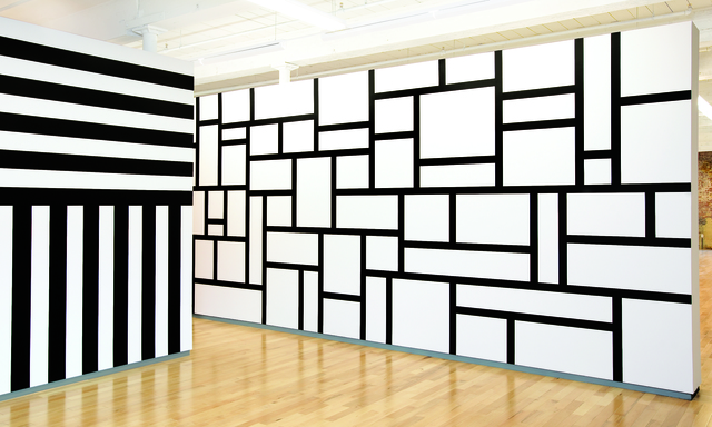 , 'Wall Drawing #631,' 1990, MASS MoCA