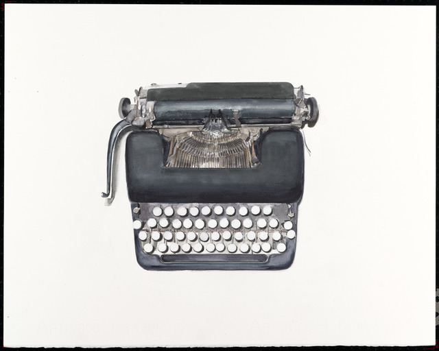 , 'Typewriter (Museum Storage),' 2012, G. Gibson Gallery