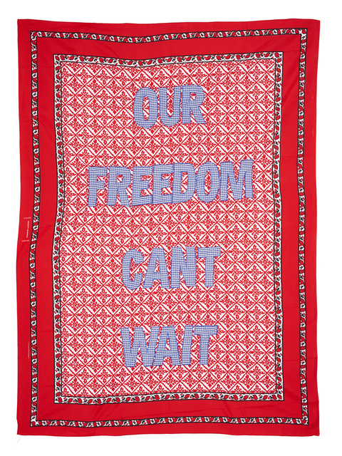, 'Our Freedom Cant Wait,' 2015, Afronova