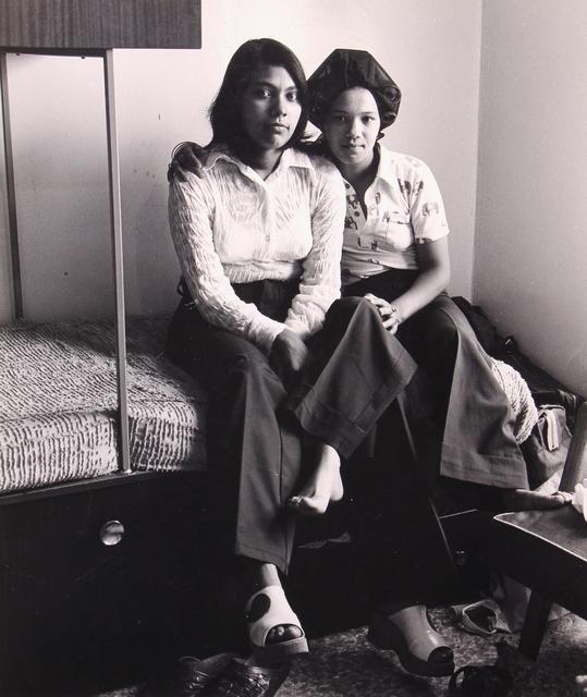 , 'Girls in a Flat Basement,' 1974, Huxley-Parlour