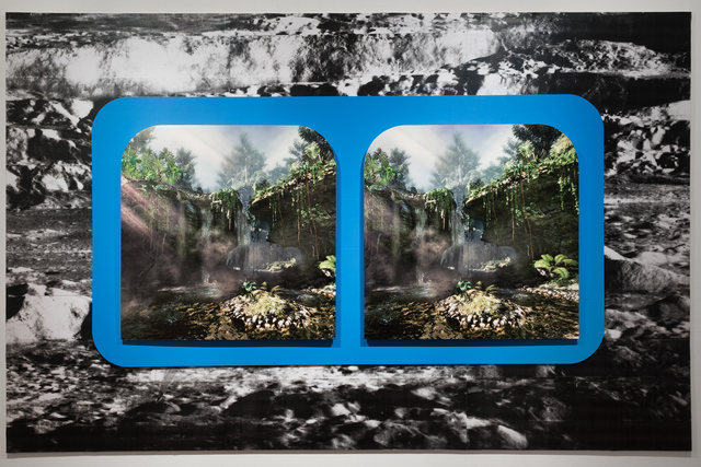 , 'Seeing Double (Waterfall),' 2015, Alter Space