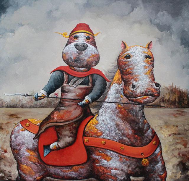 , 'Battle Of Chang Ban 张飞独守长板坡,' 2017, Art WeMe Contemporary Gallery