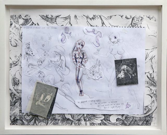 , 'He Dreams of Killing Her,' 1996, James Barron Art
