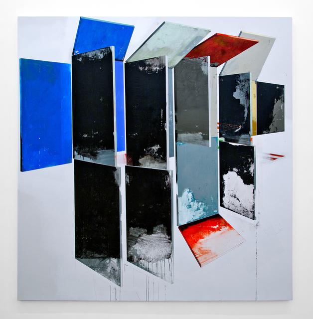 , 'Hollow walls with black,' 2015, LURIXS: Arte Contemporânea