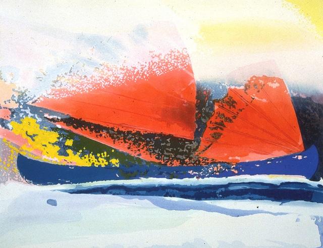 , 'Color woodcut,' 1989, Crown Point Press