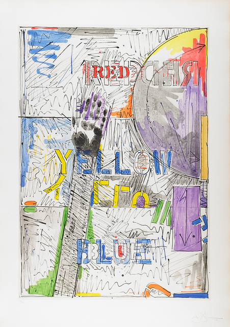 Jasper Johns, 'Land's End', 1978, Print, Etching and sugarlift aquatint on paper, Rago/Wright