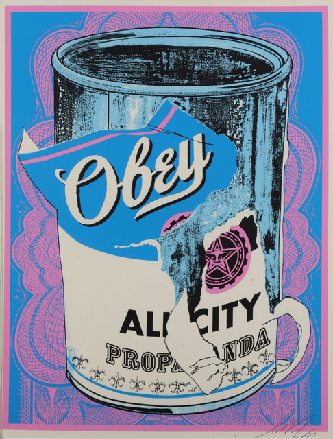 Shepard Fairey, 'Soup Can IV', 2010, Chiswick Auctions