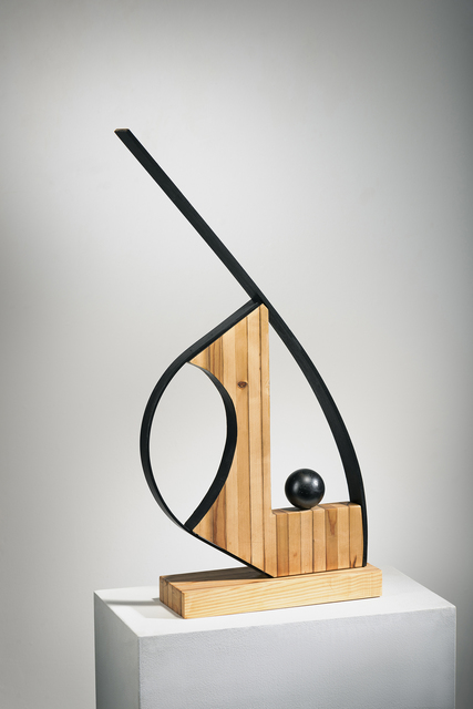 Betty McGeehan, 'Minimal Wood Abstract Sculpture: 'The Academic'', 2018, Ivy Brown Gallery