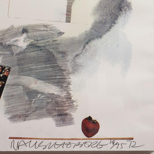 Robert Rauschenberg, 'McGovern', 1972, Drawing, Collage or other Work on Paper, Lithograph on wove paper, Caviar20