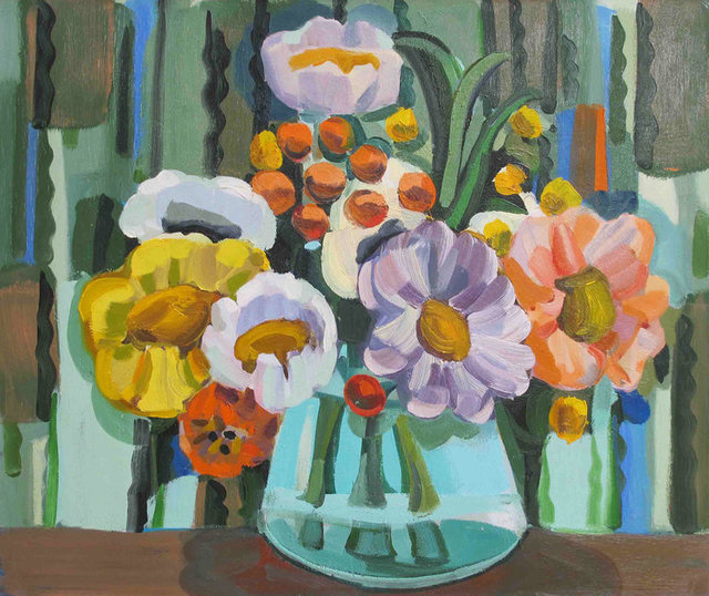 , 'Peonies,' 2009, The Painting Center