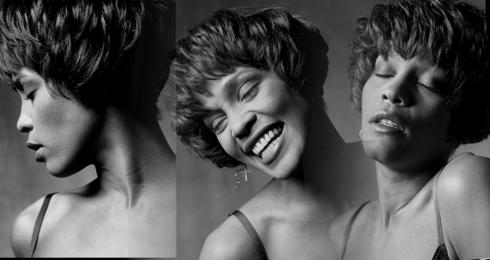 Whitney Houston, Whitney 3-Up, LA, 1990