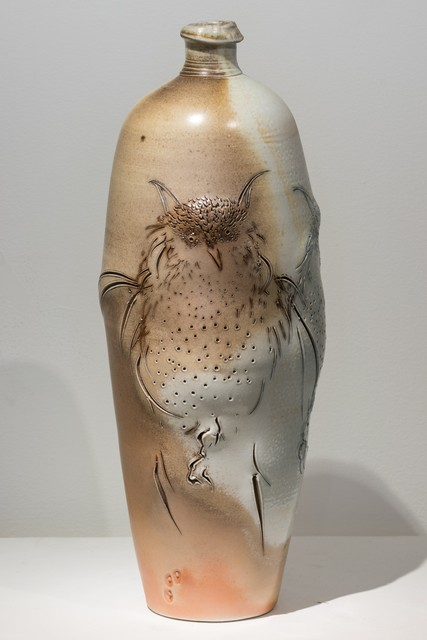 , 'Two Owls Vase,' 2015, Eutectic Gallery