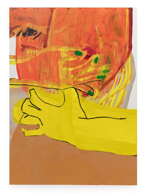 , 'Self-like construct (in red-orange)   ,' 2018, Capsule Shanghai