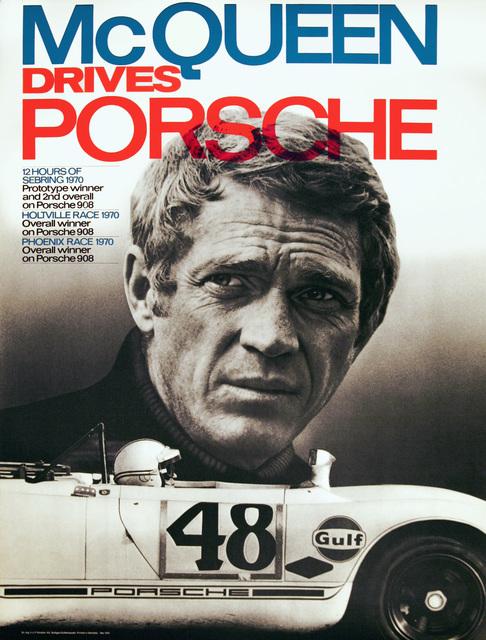 , 'Steve McQueen Drives Porsche,' 1970, Omnibus Gallery