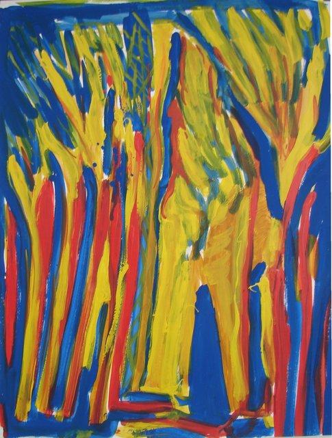 , 'Arbres France 12-21,' 1993, Galerie Marie-Robin