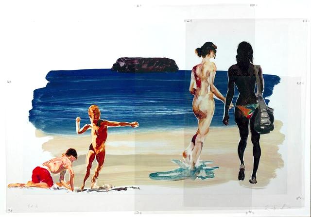 , 'Untitled (Girls Walking Boy Throwing Stone),' 2017, Hexton Gallery