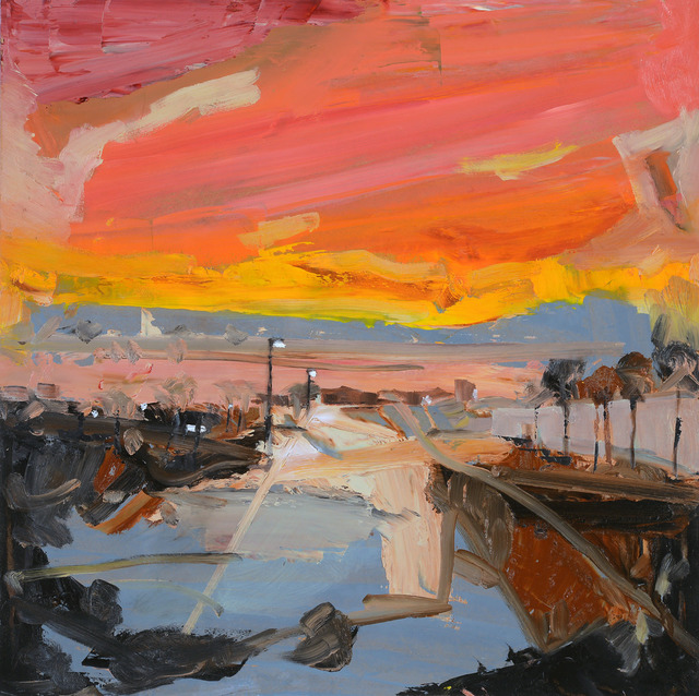 , 'Urban Sunset,' 2017, Wallace Galleries