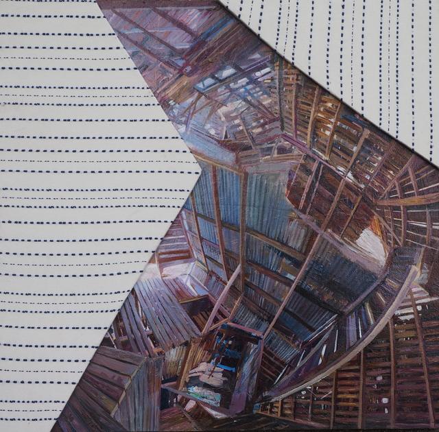 , 'Collapsed Barn,' 2018, Venvi Art Gallery