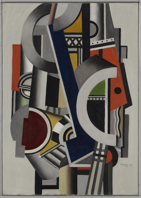 Fernand Léger, 'Eléments mécaniques (Mechanical Elements)', 1924, Yale University Art Gallery