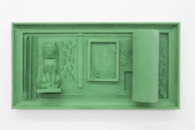 , 'Green Silver Screen,' 2016, Base-Alpha