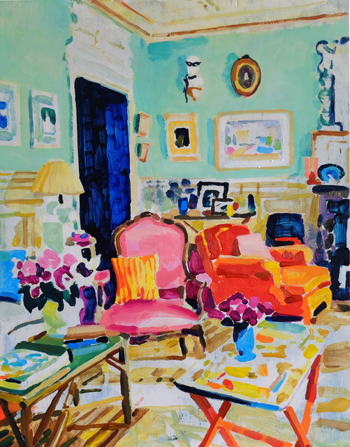 , 'Interior (Hamish),' 2017, RYAN LEE
