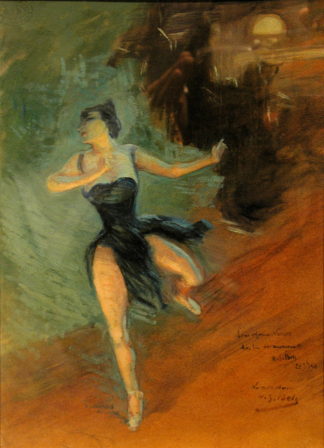 , 'Ballerina - Dancing - Dancer,' 1903, Omnibus Gallery