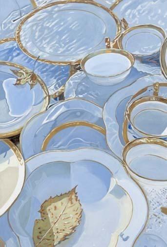 , 'Plates in the Battenkill,' 2013, Cross Mackenzie Gallery