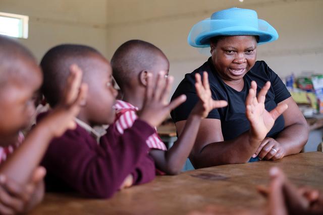 Rebecca Crook, 'Tombo Primary School - Zimbabwe', 2016, Museum of African Design (MOAD)