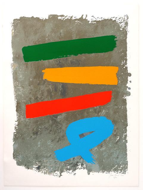 Jack Bush, 'Three and Blue Loop', 1971, Nikola Rukaj Gallery