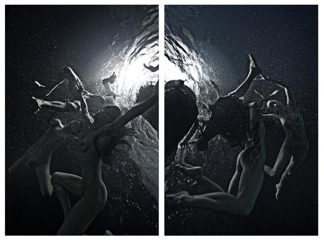 Tomohide Ikeya, 'Breath #144/145 diptych', 2018, Micheko Galerie