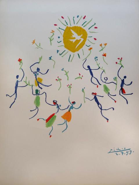 Pablo Picasso, 'Ronde de la Jeunesse (The Youth Circle) ', 1959, Denis Bloch Fine Art