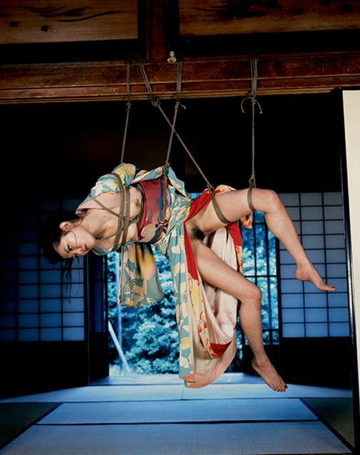 Nobuyoshi Araki, 'Kinbaku', 1980, Photography, Chromogenic print on Crystal paper, Galleria 13
