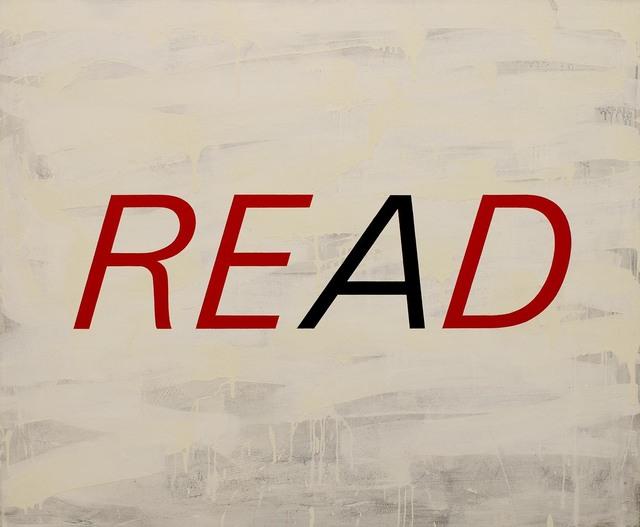 Enn Erisalu, 'Read Red', 1990, Gallery Jones