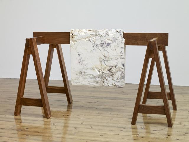 , 'Draped Marble (Fior di Pesco Apuano),' 2015, Mona Bismarck American Center