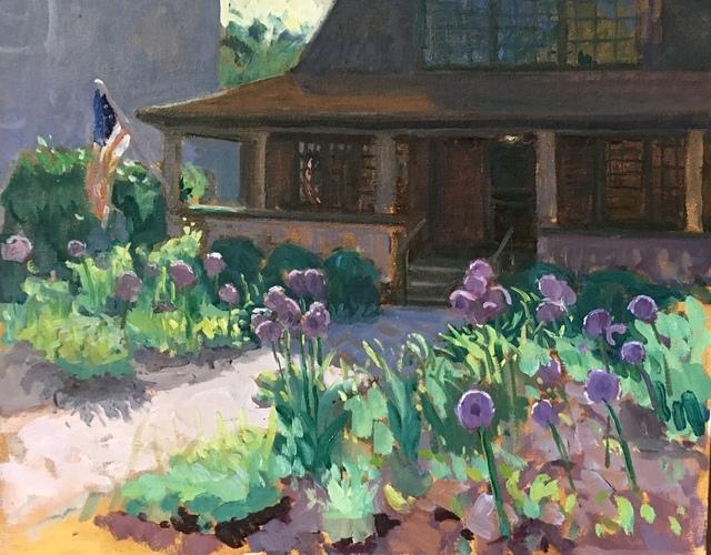 Kelly Carmody, 'Alliums at Annie's', 2019, Grenning Gallery