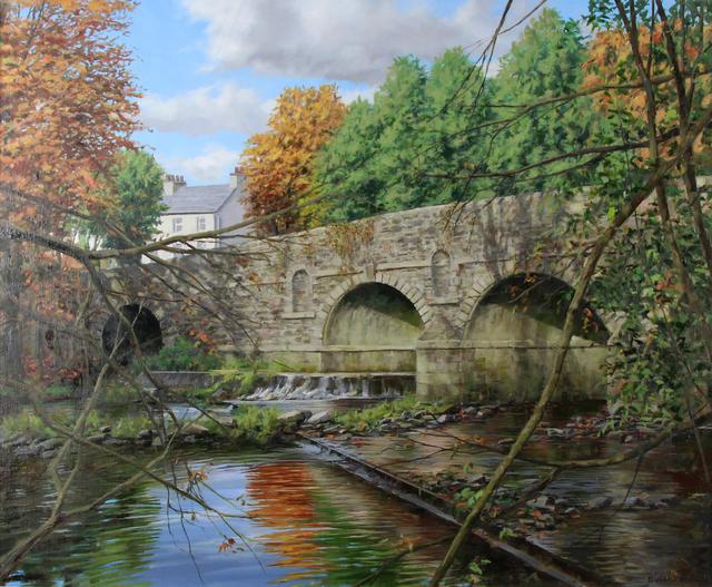 Eugene Conway, 'Bridge In Autumn', 2019, Gormleys Fine Art