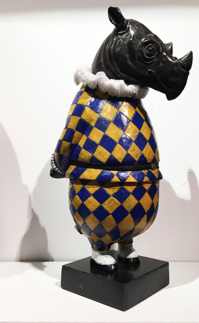 , 'Rhino Harlequin, maquette,' 2017, Cavalier Galleries