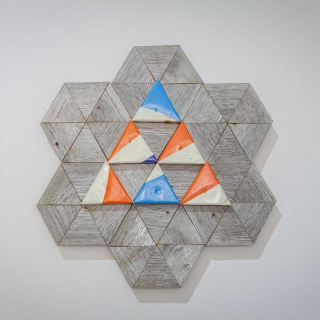 , 'Geoflake 12,' 2016, Open Mind Art Space