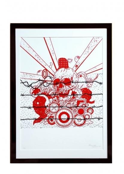, 'Cosmic Skull,' 2011, Mark Moore Fine Art
