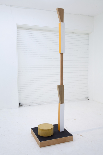 , 'Grave Digger #3 (Column & box),' 2012, Nina Johnson