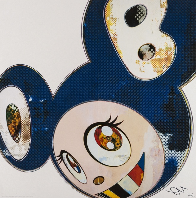 Takashi Murakami, 'And Then X 3000 (Blue)', 2003, Forum Auctions