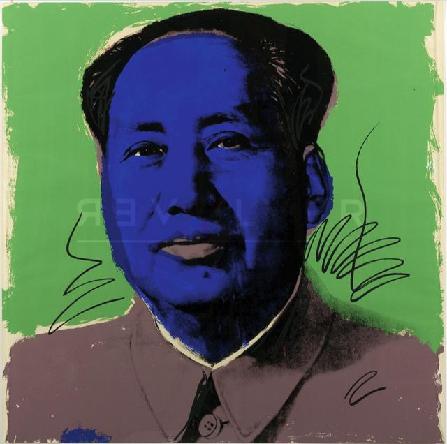 Andy Warhol, 'Mao (FS II.90)', 1972, Print, Screenprint on Beckett High White Paper, Revolver Gallery