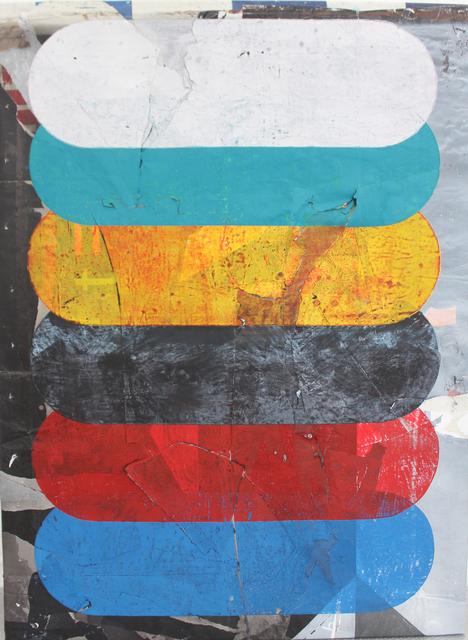 , '0.T. (Peter upside down),' 2018, Galerie Heike Strelow